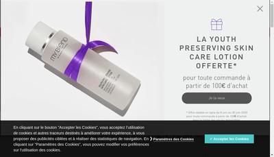 Site internet de Myblend France