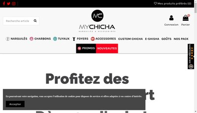 Site internet de Mychicha