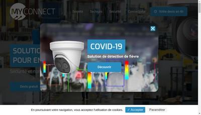 Site internet de Myconnect