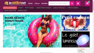 Site internet de Mycrazystuff