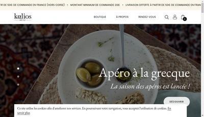 Site internet de Kalios
