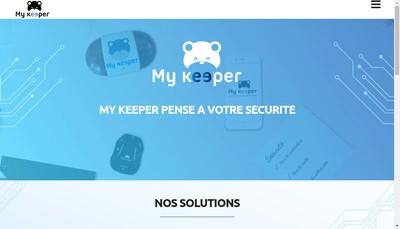 Site internet de My Keeper