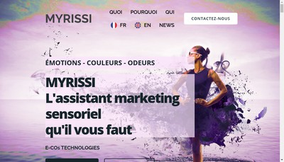 Site internet de Myrissi