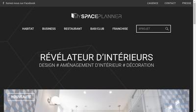 Site internet de Myspaceplanner