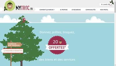 Site internet de Mytroc