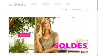 Site internet de Nathalie Chaize