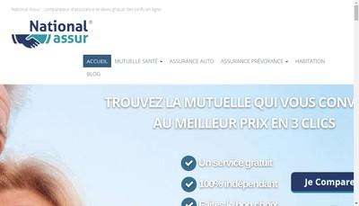 Site internet de Cpa Assurances