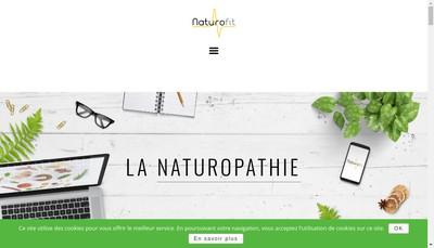 Site internet de Naturofit