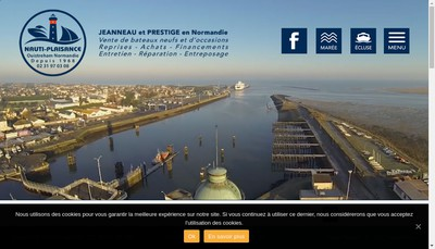 Site internet de Nauti Plaisance