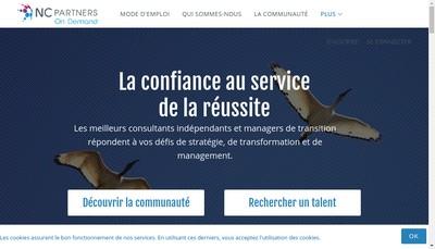 Site internet de Nc Partners