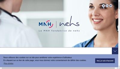 Site internet de Nehs Developpement