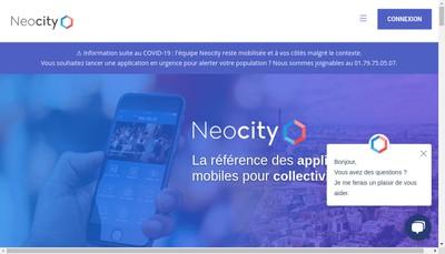 Site internet de Neocity