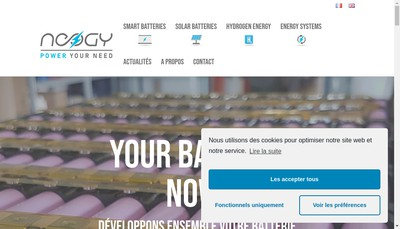 Site internet de Neogy