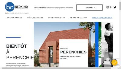 Site internet de Bc Neoximo