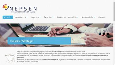 Site internet de Nepsen