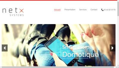 Site internet de Netx Systems
