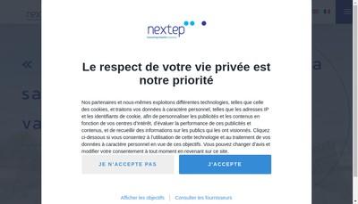 Site internet de Nextep