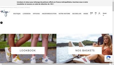 Site internet de N'GO