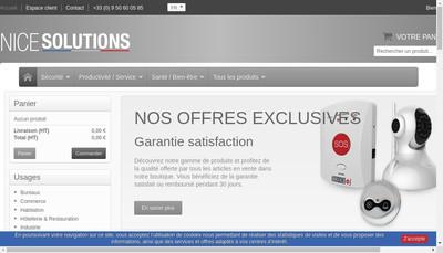 Site internet de Nice Solutions Net Identity Domaine
