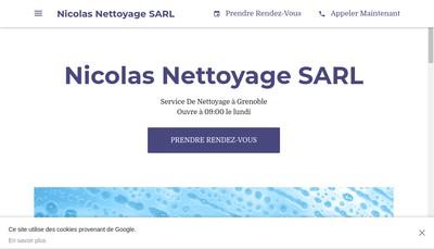 Site internet de SARL Nicolas Nettoyage