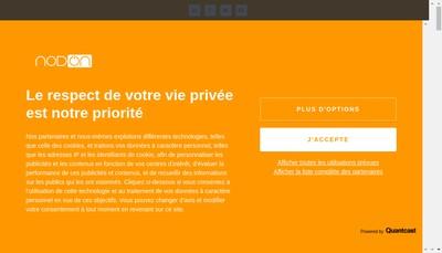 Site internet de Nodon