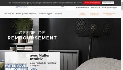 Site internet de Noirot