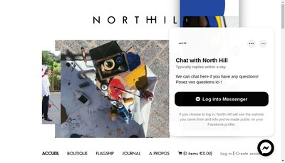 Site internet de North Hill