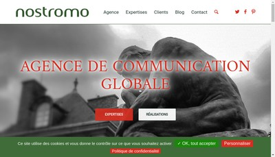 Site internet de Nostromo