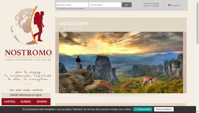 Site internet de Librairie Nostromo