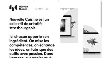 Site internet de Collectif Nouvelle Cuisine