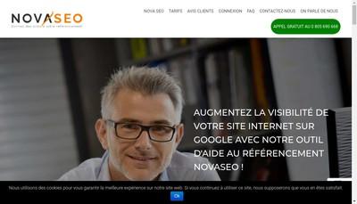 Site internet de Novaseo