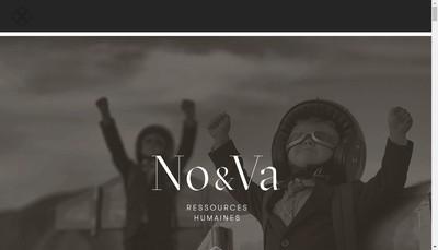 Site internet de No&Va Rh