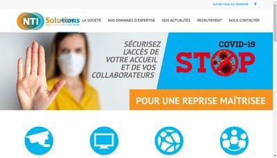 Site internet de Nti