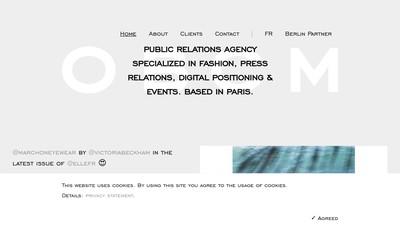 Site internet de Obcm