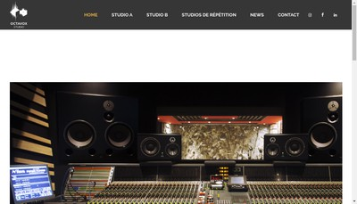Site internet de Octavox Studio