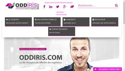 Site internet de Oddiris