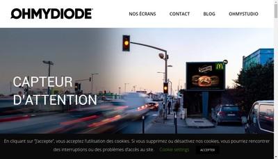 Site internet de Oh My Diode