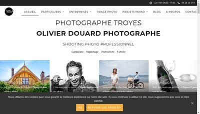 Site internet de Olivier Douard Photographe