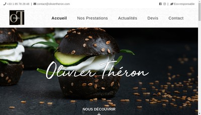 Site internet de Olivier Theron SAS