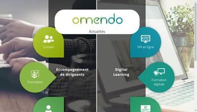 Site internet de Groupe Omendo Omendo Osmose Osmose Conseil Groupe Omendo Nef Groupe Omendo