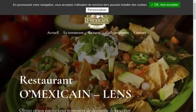Site internet de O Mexicain