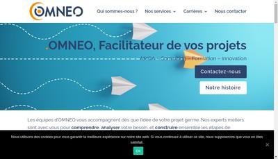 Site internet de Omneo
