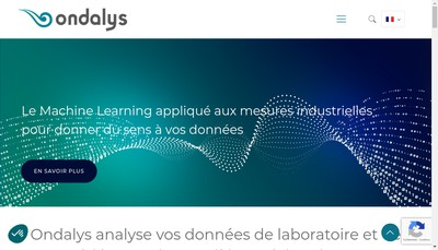 Site internet de Ondalys