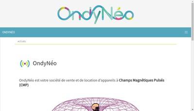 Site internet de Ondyneo