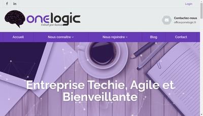 Site internet de One Logic Consulting