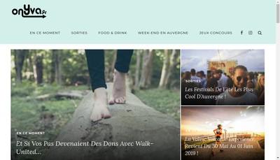 Site internet de Onyva Fr