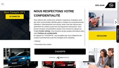 Site internet de Gmac Banque