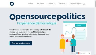 Site internet de Civic Tech