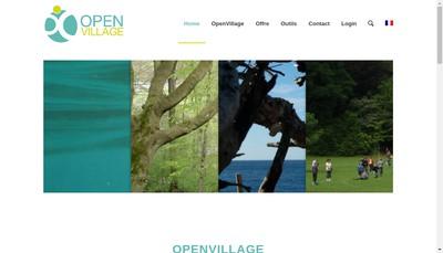 Site internet de Openvillage