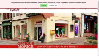 Site internet de Optique Medicale Morice SARL